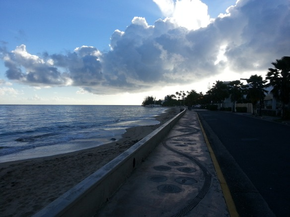Morning run in San Juan